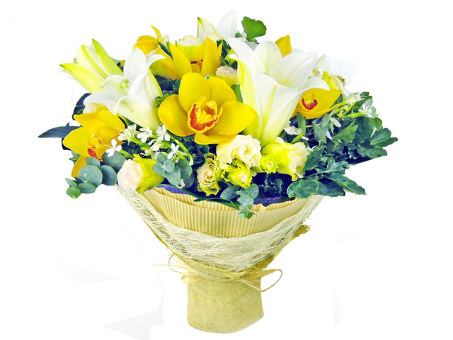 Florist Flower Bouquet - Florist gift bouquet BG20 - P0919b Photo