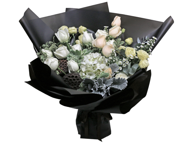 Florist Flower Bouquet - France style rose florist bouquet RD09 - L76604275 Photo