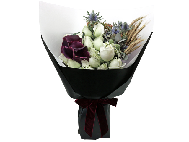 Florist Flower Bouquet - France style rose florist bouquet RD14 - L76604381 Photo