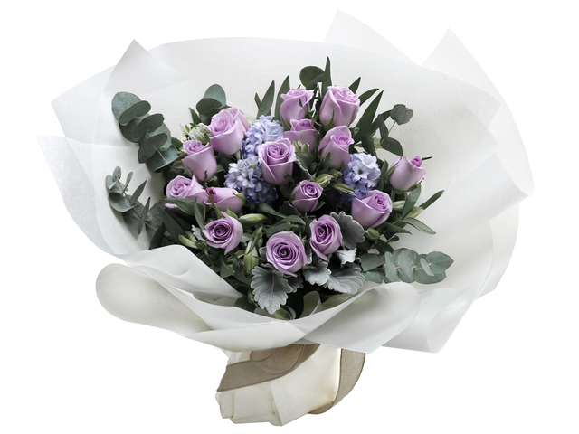 Florist Flower Bouquet - France style rose florist gift RD22 - L76604483 Photo