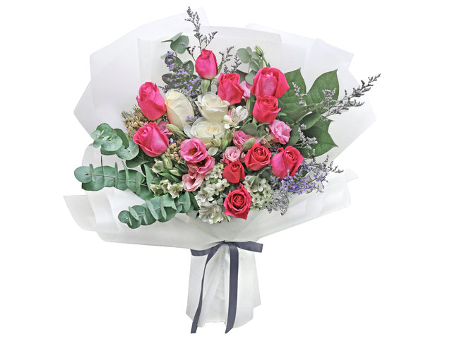 Florist Flower Bouquet - France style rose florist gift RD23 - L76604488 Photo