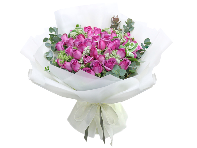 Florist Flower Bouquet - France style rose florist gift RD31 - L76604574 Photo