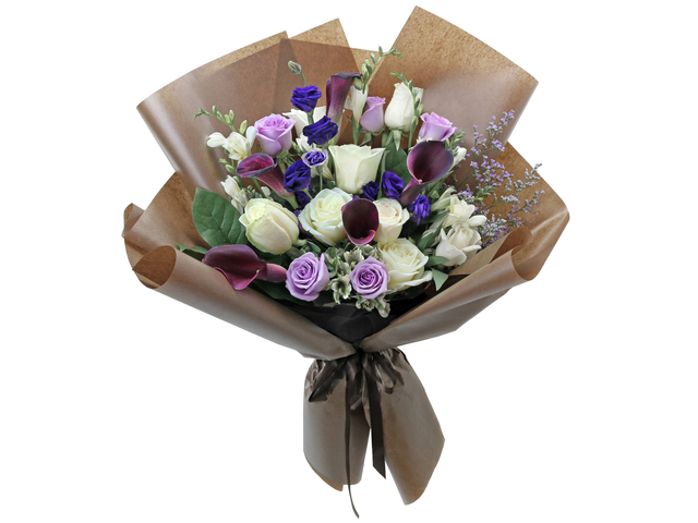 Florist Flower Bouquet - France style rose florist gift RD34 - L76604500 Photo