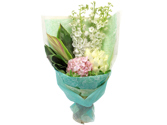 Florist Flower Bouquet - Graceful elegant---02 Bouquet - L24249 Photo