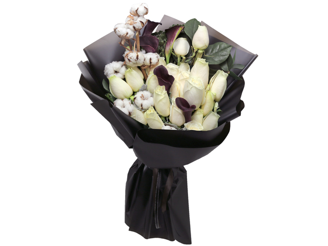 Florist Flower Bouquet - Italy style Calla Lily florist bouquet gift RD20 - L76604446 Photo