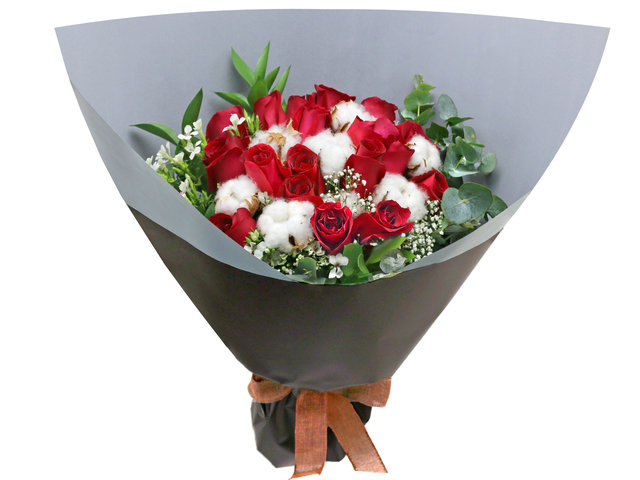 Florist Flower Bouquet - Italy style rose bouquet florist  RD32 - L76604582 Photo