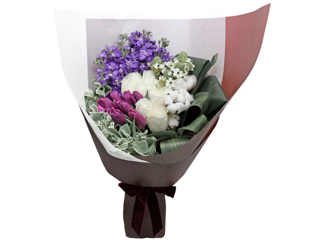Florist Flower Bouquet - Italy style rose florist bouquet RD16 - L76604351 Photo