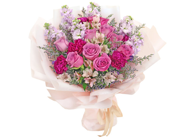 Florist Flower Bouquet - Mother's Day Flower Shop Bouquet AE01 - MR0423A4 Photo