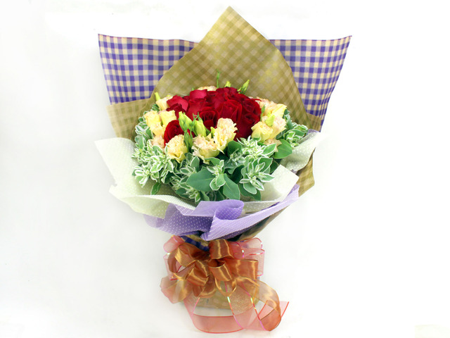 Florist Flower Bouquet - Pastel Bouquet - L06852 Photo