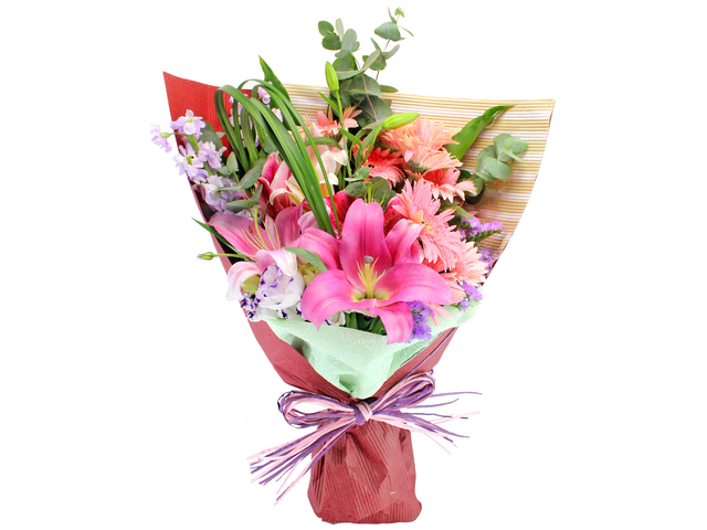 Florist Flower Bouquet - Pink Lady Bouquet - L105538 Photo