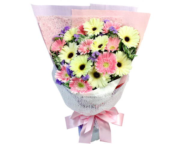 Florist Flower Bouquet - Pink Sun Bouquet  - L181828 Photo