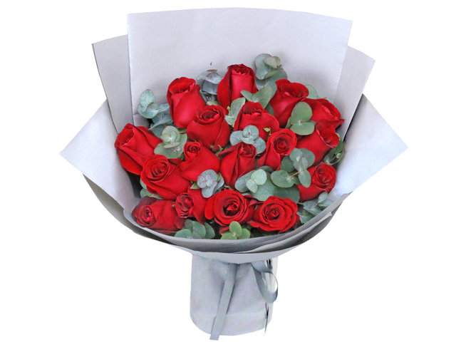 Florist Flower Bouquet - Red rose florist bouquet RD41 - L36669818 Photo