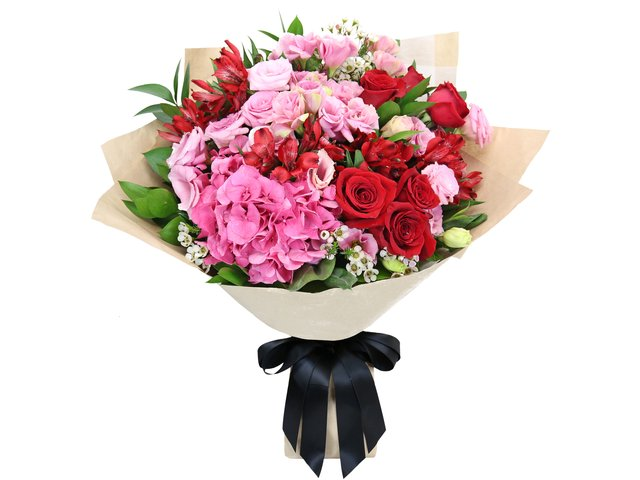 Florist Flower Bouquet - Red rose florist gift PL04 - B2S0502A1 Photo