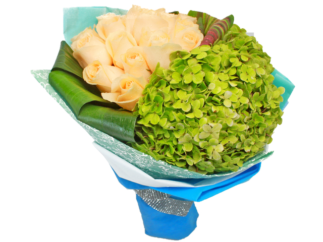 Florist Flower Bouquet - Romance novel's 05 Bouquet - L24160 Photo