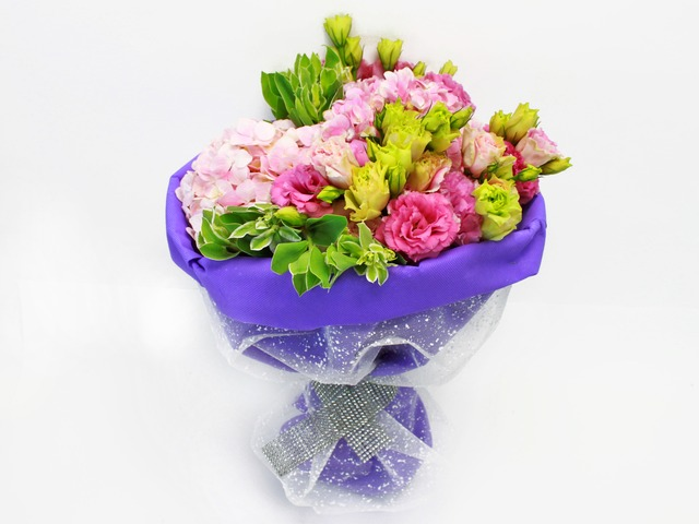 Florist Flower Bouquet - Romance novel's 07 Bouquet - L24189 Photo