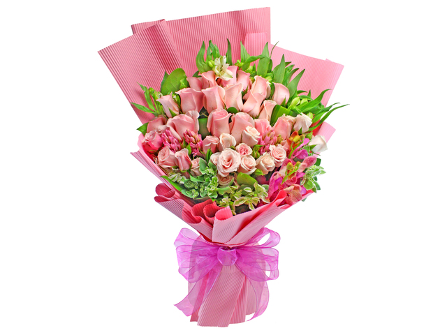 Florist Flower Bouquet - Roses Bouquet 13 - L129051 Photo