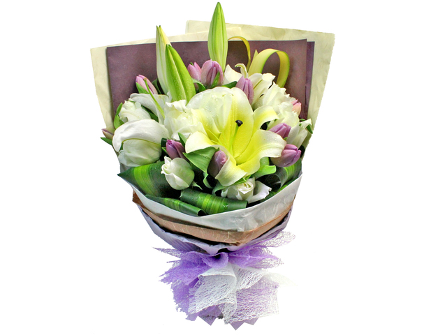 Florist Flower Bouquet - Tulipia  Bouquet  - L181109 Photo