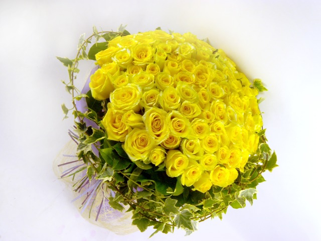 Florist Flower Bouquet - Yellow Fever - B0533 Photo