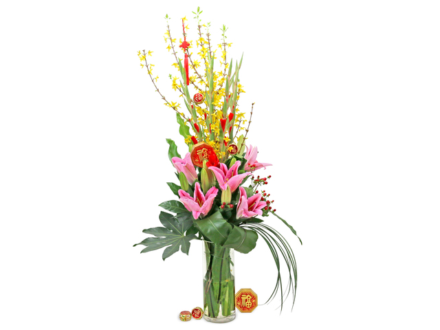 Florist Flower in Vase - CNY florist Deco CL07 - L76604663 Photo