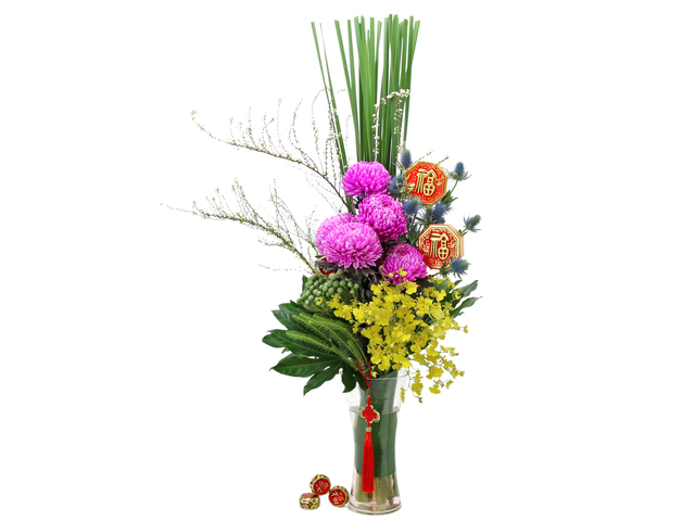 Florist Flower in Vase - CNY florist Deco CL08 - L76604672 Photo