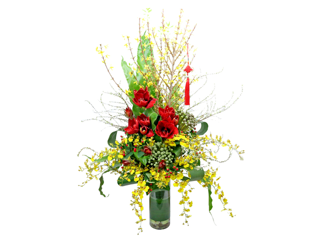 Florist Flower in Vase - CNY florist Deco CL14 - L76604737 Photo