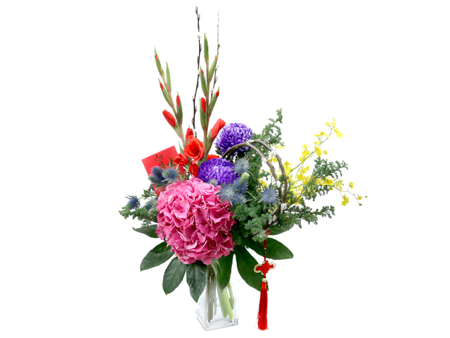 Florist Flower in Vase - CNY florist Deco CL15 - L76604762 Photo