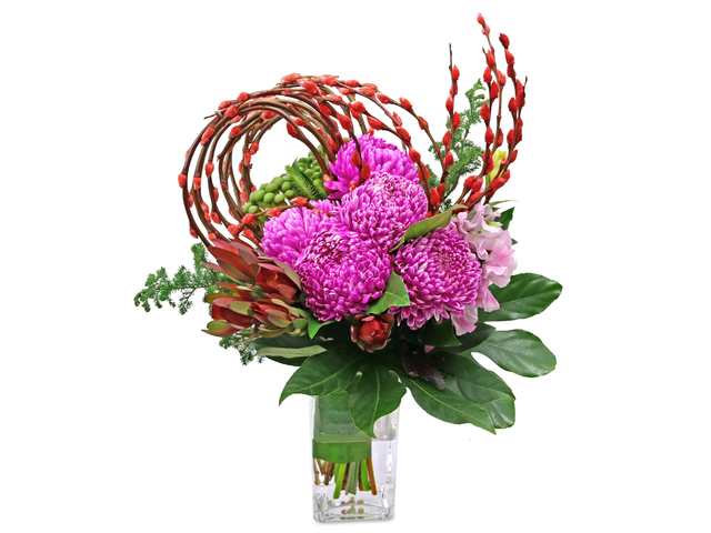 Florist Flower in Vase - CNY florist Deco CL17 - L76604774 Photo