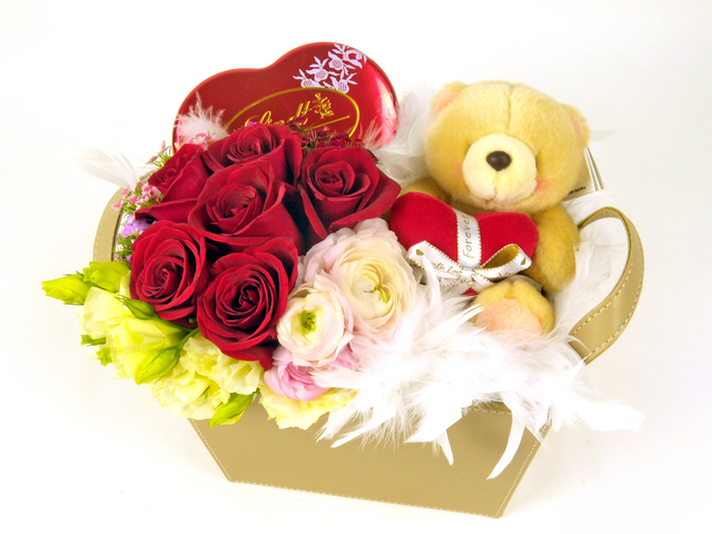 Florist Gift Set - Mini Three Times the Charm / Brithday Gift (02) - P5230 Photo