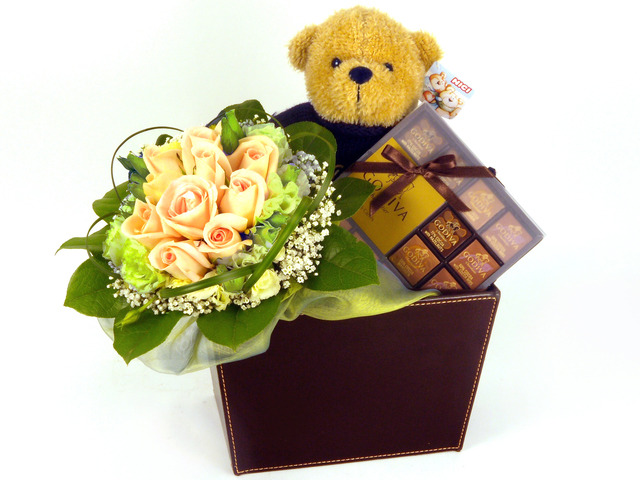 Florist Gift Set - Three Times the Charm (09)/Birthday Gift 14 - P5097 Photo