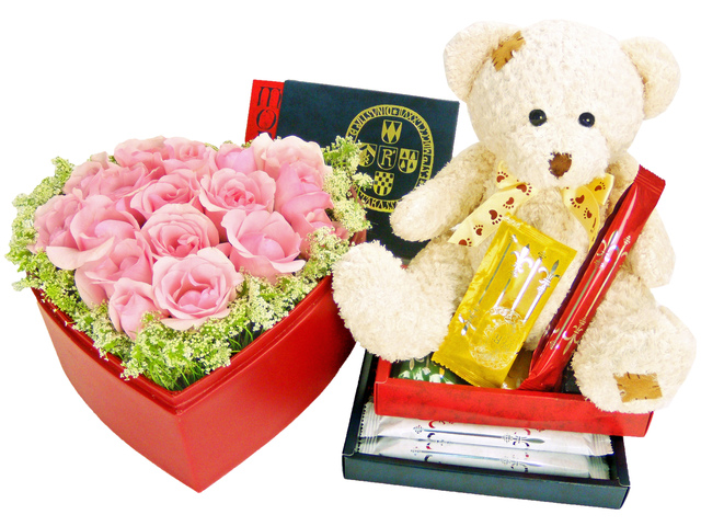 Florist Gift Set - Three Times the Charm (B) / Birthday Gift 12 - P1512 Photo