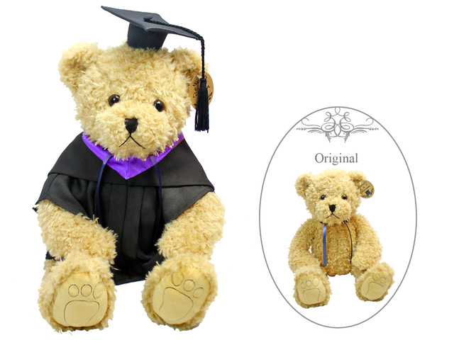 Florist Gift - Barnes & Coleman Graduation Light Brown Teddy Bear - L178156 Photo