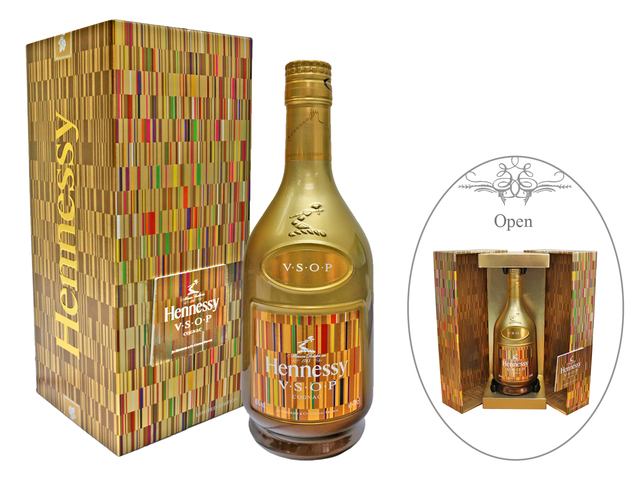 Florist Gift - Hennessy VSOP special limited edition - L36667393 Photo