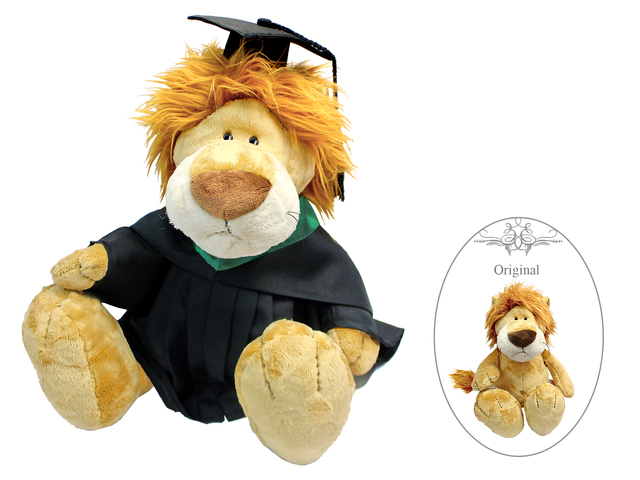 Florist Gift - Nici Graduation Doll - Lion - L177708 Photo