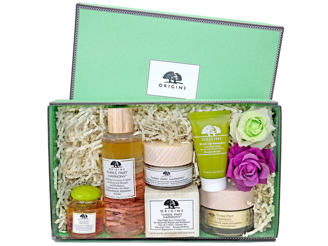 Florist Gift - Origins Three Part Harmony Skincare gift set - SE0124A5 Photo
