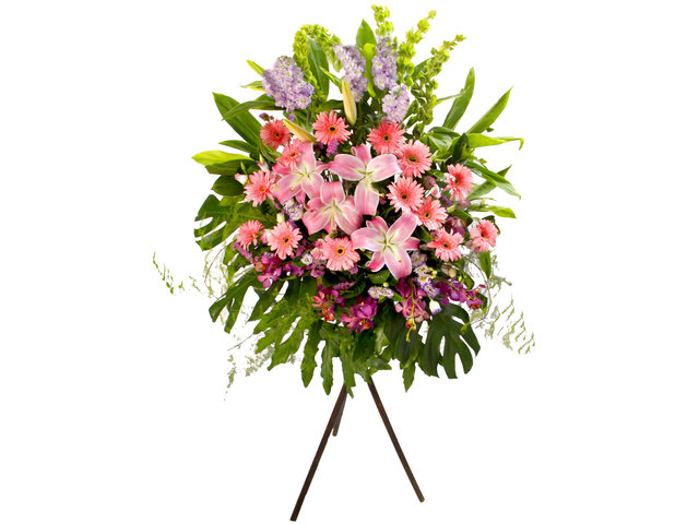Flower Basket Stand - Business Flower Stand N1 - L81622 Photo