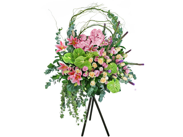 Flower Basket Stand - Congratulations Florist stand B20 - L76608685 Photo