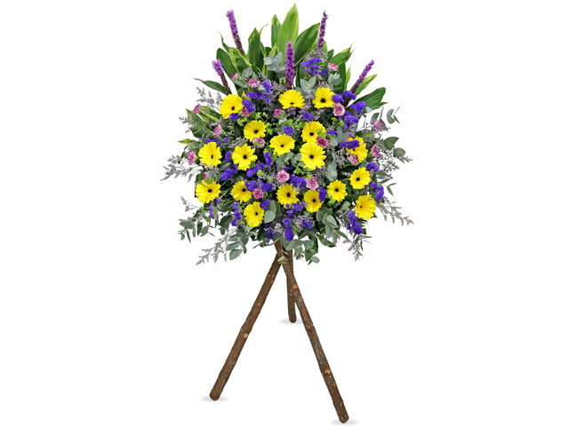 Flower Basket Stand - Congratulations flower stand AK16 - L36668287 Photo