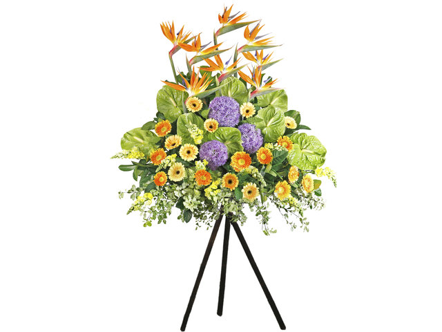 Flower Basket Stand - English style florist stand EA01 - L76600205 Photo