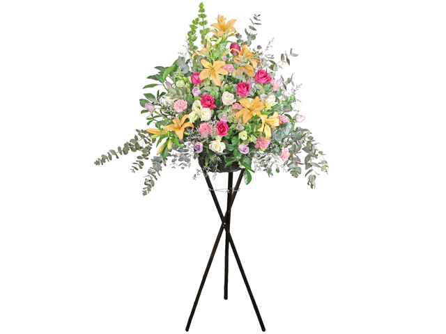 Flower Basket Stand - Italy florist arrangement Collection 22 - L76606922 Photo