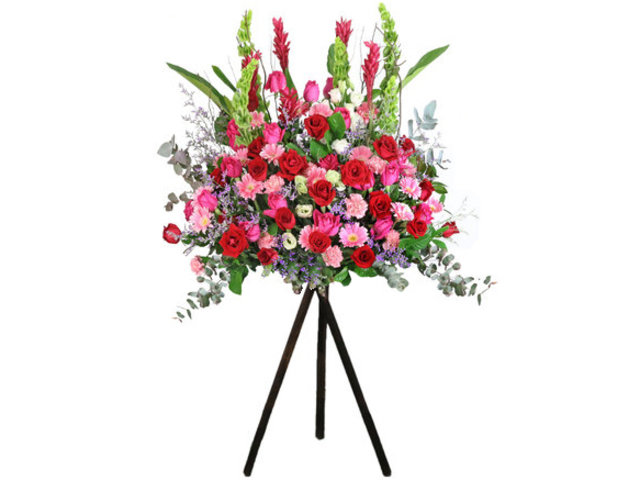 Flower Basket Stand - Italy style florist arrangement Collection 22 - L76606896 Photo