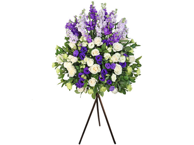 Flower Basket Stand - Opening florist Basket BG21 - L2409 Photo