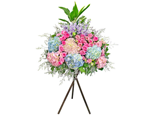 Flower Basket Stand - Opening flower basket A3 - L154117 Photo