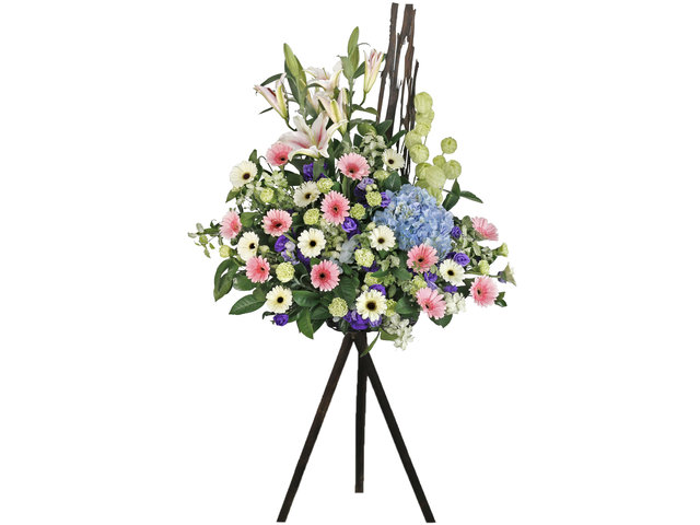 Flower Basket Stand - Openning Japan style florist stand  A29 - L76600197 Photo