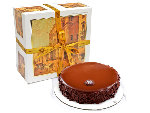 Fresh Cake - COVA - Sacher 0.5 pound - L012659 Photo