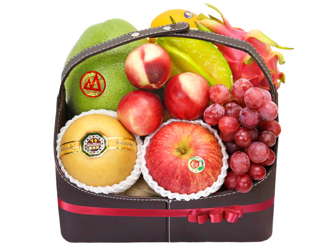 Fruit Basket -   Fruit Hamper (15) - L40509 Photo