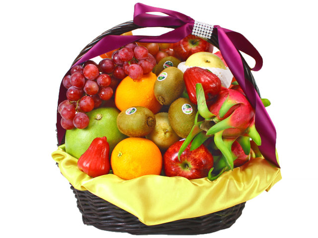 Fruit Basket - Business Fruit Gift Basket (12)  - L11441 Photo