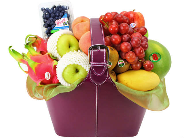 Fruit Basket - Business Gift Fruit Leather  (8)  - L11439 Photo
