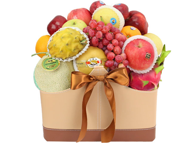 Fruit Basket - Business Gift Fruit Leather FB1  - FT0319A3 Photo