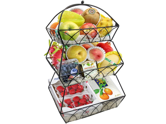 Fruit Basket - CNY Fruit Hamper T2 - 0ML0109A1 Photo