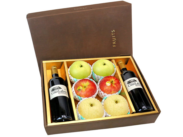 Fruit Basket - CNY Fruits Gift Box CNY25 - 0FB0109A8 Photo